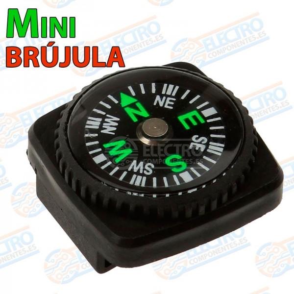 Mini Brujula para correa de reloj o cuerda de Paracord Pocket Compass senderismo