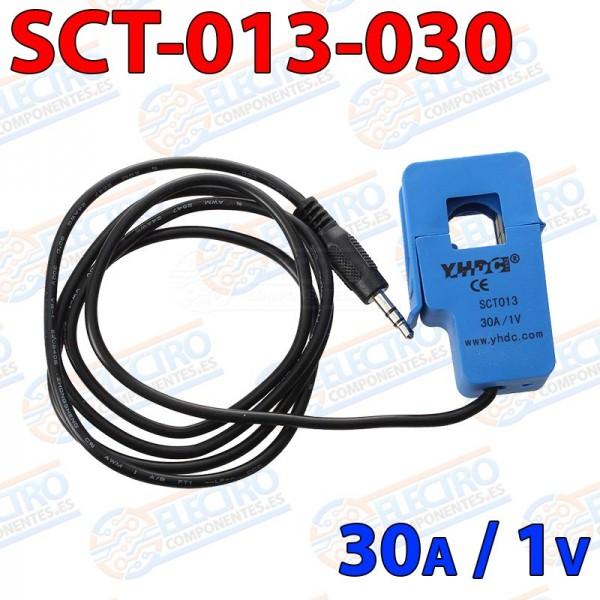 SCT-013 Sensor de corriente no invasivo 30A AC pinza amperimetrica